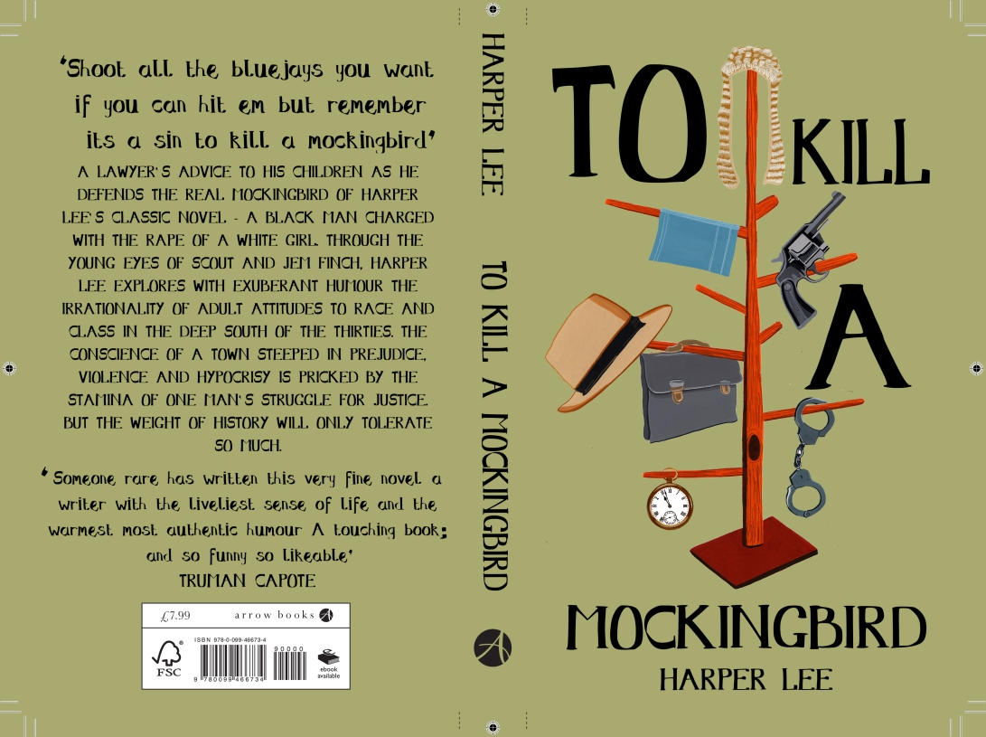 To Kill A Mocking Bird Cover