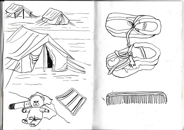 Refugee sketches