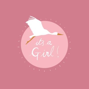 it's a girl! - laura wright illustration 19